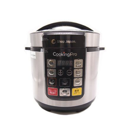 ショップ ジャパン 電気 圧力 鍋 ショップジャパン 電気圧力鍋|CKP001KD|[通販]ケーズデンキ