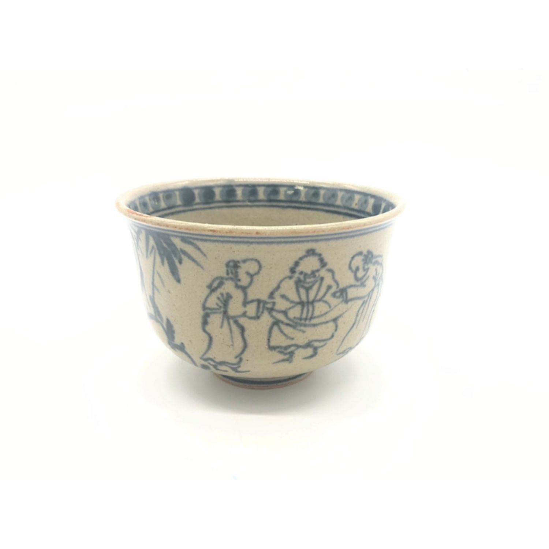 茶碗 未使用品 未使用品 七賢人